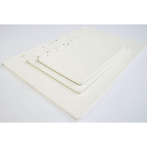 Notizpapier weiß blanko
