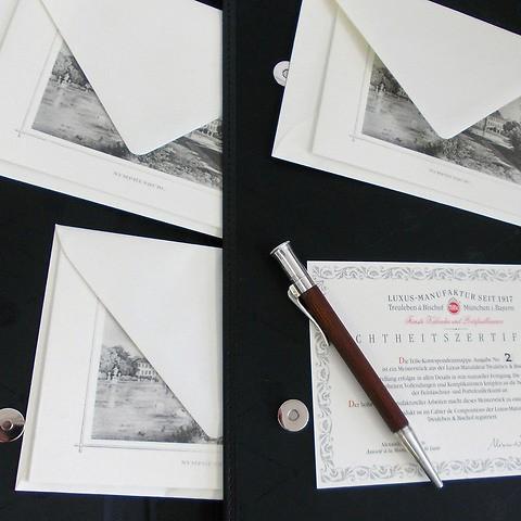 Korrespondenzmappe Komposition No. 2 'L'Ambassadeur'