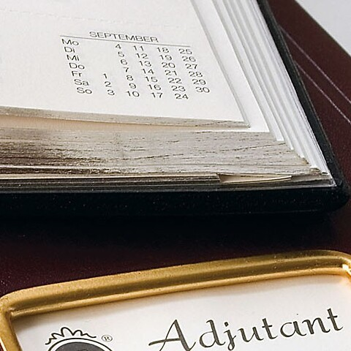 Tageskalender Adjutant 2022